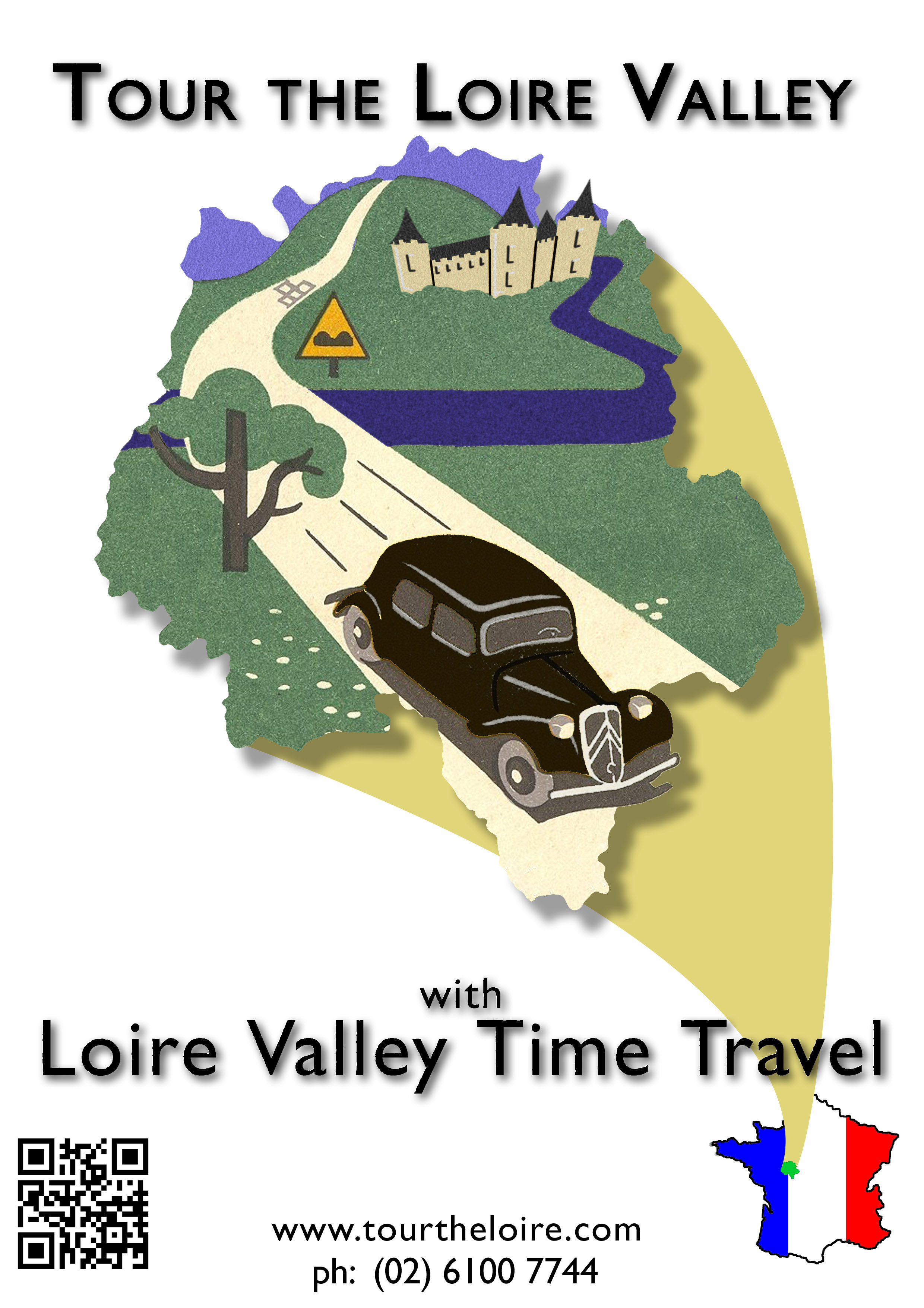 Tour the Loire Valley with a classic car and a private guide.